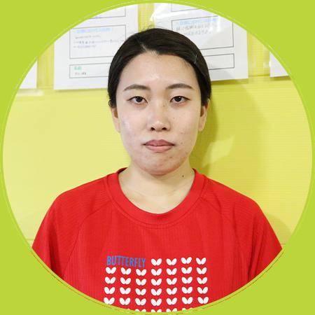 安田友祈(ゆきな・長女)コーチ